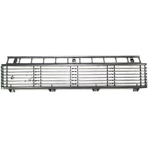 Grille For 79 81 Toyota Pickup Silver Plastic