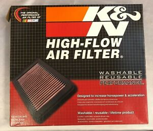 New K n High flow Air Filter Washable Reusable Performance 33 5000