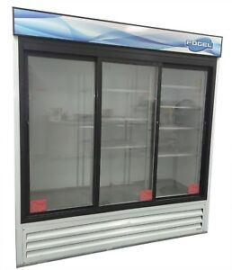 Fogel Vr 67 sd us Refrigerator Commercial Three section Reach In Cooler Retail