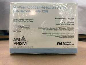 New Box Of 20 Optical Reaction Plate 96 Well For Rt Pcr Thermocyclers
