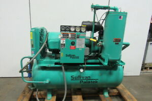 Sullivan Palatek 30dg 30hp Rotary Screw Air Compressor 230 460v 3ph
