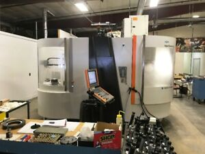Used Mikron Hsm 600u 5 axis Cnc Vertical Machining Center New 2011