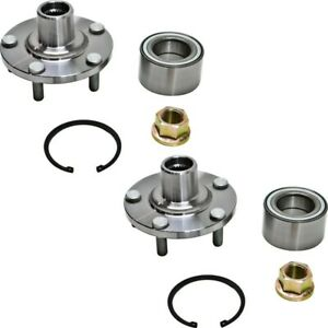 2 New Premium Front Wheel Hub Bearing Assembly Units Pair set For Left And Right