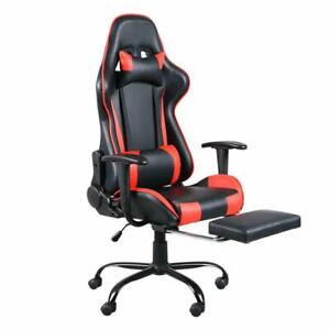 Office Computer Gaming Chair Racing Desk Seat Ergonomic Adjustable High Back