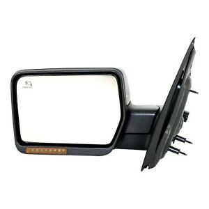 Mirror For 2007 2008 Ford F 150 Power Folding With Puddle Light Paintable Left