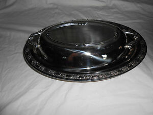 Oneida Silversmiths Covered Silver Casserole Vegetable Dish