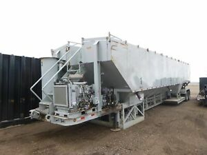 2008 Appco Fs40 Sand King Frac Sand Silo W Conveyors Portable Oil Field 2560