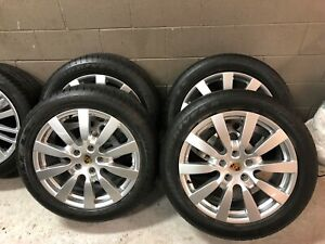 Porsche 20 Cayenne Sport Design Wheels 9jx20 With Tires