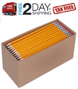 2 Pencils Bulk No 2 150 Count Pack Amazon Lapices Caja Lapiz Madera No 2 Hb Se