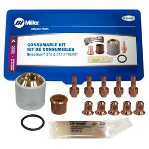 Miller 222939 Plasma Cutter Consumable Kit Ice 27c 27t