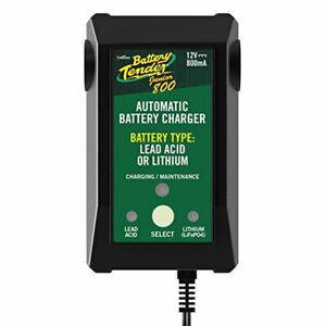 Battery Tender Plus 12 Volt 800 Mah High Efficiency Junior Size Battery Charger
