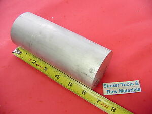 4 Pieces 2 1 2 Aluminum Round Rod 6 25 Long 6061 T6 Solid Lathe Bar Stock