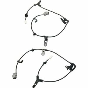 Pair Abs Cable Harnesses Set Of 2 New Rear Right and left Lh Rh For Corolla