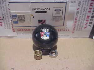 1950 s Ford Crest Custom Licenced Shift Knob black Pearl