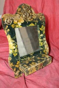 Fantastic Victorian Table Top Or Hanging Mirror Wall Box W Drawer Jewelry Box