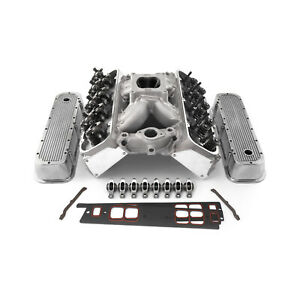 Chevy Bbc 454 Hyd Roller Aluminum Cylinder Head Top End Engine Combo Kit