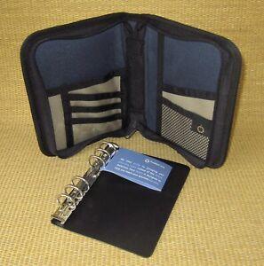 Compact 1 Rings new Blue brown Durable Sport Franklin Covey Planner binder