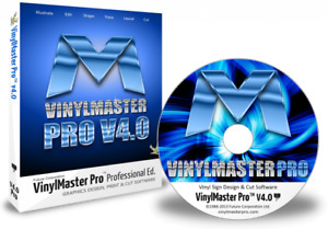 Vinylmaster Pro Vmp Vinyl Cutter Software Crossgrade With Cd