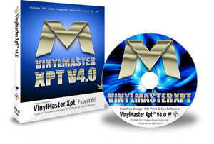 Vinylmaster Expert Xpt Vmx Vinyl Cutter Software Crossgrade With Cd