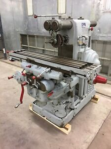 Milling Machine Kearney And Trecker Milwaukee Model K No 2 Plain Horizontal