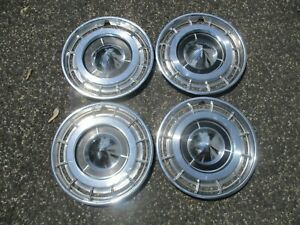 1960 Buick Electra Factory 15 Inch Hubcaps Wheel Covers Set