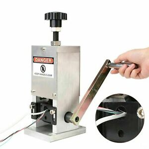 Heavy Duty Manual Copper Cable Wire Stripper Stripping Cutter Machine Tool