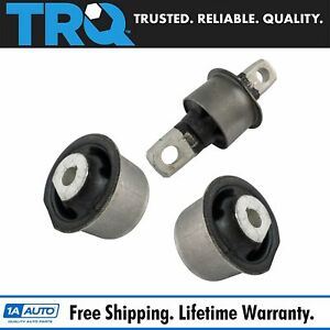Trq Front Differential Housing Mount Bushing Bracket Set 3pc For Grand Cherokee