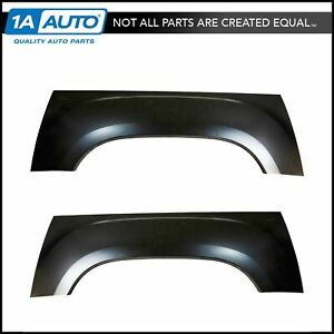 Pickup Truck Bed Wheel Arch Repair Panel Steel Lh Rh Pair For Gmc Sierra New