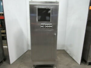 Hoffman A723018ssfs Stainless Steel Electrical Enclosure 72x30x18 W backplate