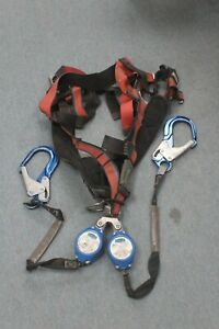 Ultra safe Msa Xl Harness Srl Srd Retractable Device For Fall Protection