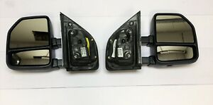 2017 18 Ford Superduty F250 F350 Pair Of Manual Mirrors Oem