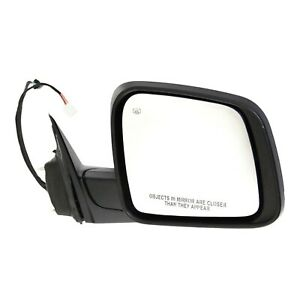 Power Mirror For 2012 2017 Jeep Grand Cherokee Paintable Manual Folding Right