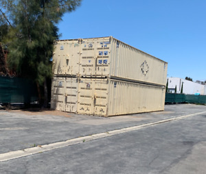 40 Foot Container In Los Angeles Long Beach Area Will Call