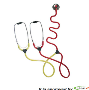 Germany Kawe Dual Training Educational Stethoscope With 2 Head Pieces One Sound