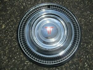 One 1963 Oldsmobile 98 Jetfire Dynamic 14 Inch Hubcap Wheel Cover