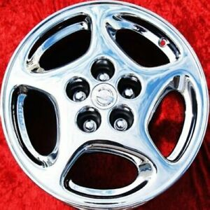 Exchange Set Of 4 New Chrome Wheels For Nissan 300zx 2 2 Oem 16 240sx 62501