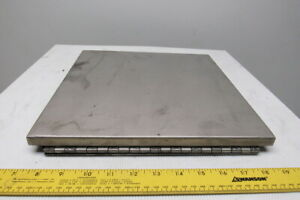 Electrical Enclosure Fold Down Shelf 12 x12 Stainless Steel