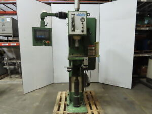 Dunkes Hzvt 10 460v 300bar 10ton C Frame Single Column Hydraulic Press 8 Stroke