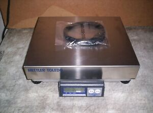 Mettler Toledo Bc Shipping Scale W Cable Stainless Usb 150 Lb Cap Bca 222 60u