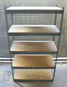Commercial Heavy Duty Storage Shelving Solid Sturdy Racks Industrial Warehouse