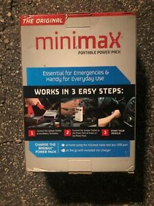 The Original Minimax Portable Power Pack Jump Start Car Battery Charge Phone Ect