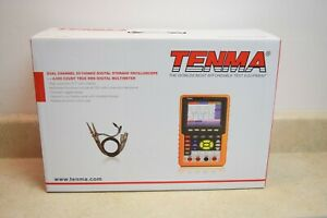 Tenma 72 8474 Compact 2 channel 100mhz Dso Oscilloscope W true Rms Dmm
