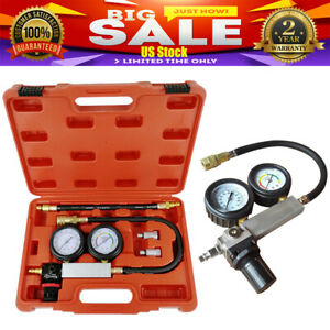 Cylinder Leak Tester Detector Petrol Engine Compression Leakdown Detector Kits