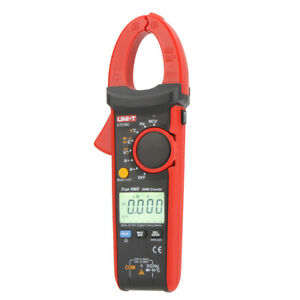Digital Clamp Meter Multimeter Ac dc Voltmeter Ammeter 600a True Rms Test J4b1