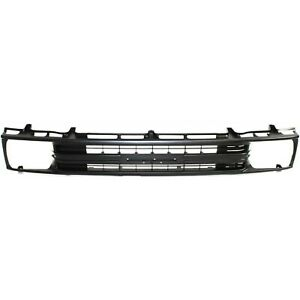 Grille For 89 91 Toyota Pickup Black Plastic