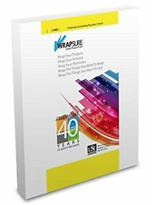 Usi Wrapsure Thermal hot Laminating Pouches sheets Legal Size 5 Mil 9 X