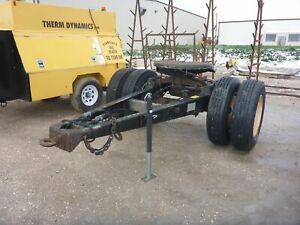 Silver Eagle Cst20n Single Axle Trailer Dolly stock 2577