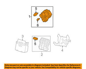 Gm Oem electrical Fuse Relay Box 20828606