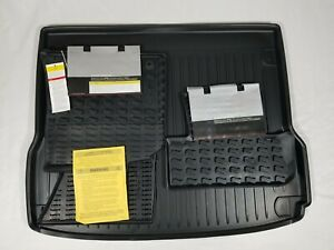 Audi Q5 Sq5 2009 2017 Oem Rubber All Weather Floor Mat Set Of 4 And Cargo Mat