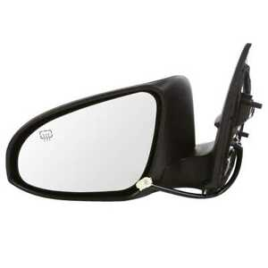 Power Heated Ptm Left Driver Side View Mirror Fits 2014 2015 2016 Toyota Corolla